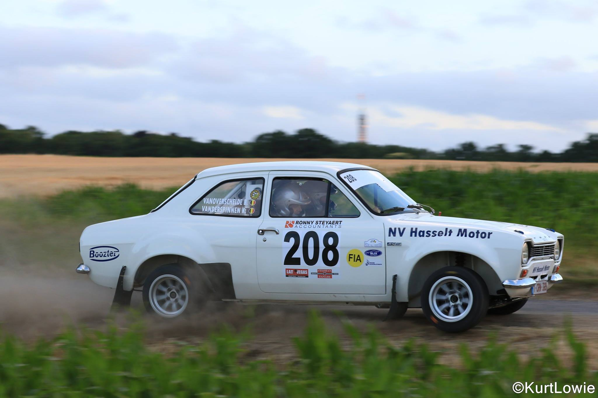 "YPRES HISTORIC RALLY     ""Een quasi perfecte race"""