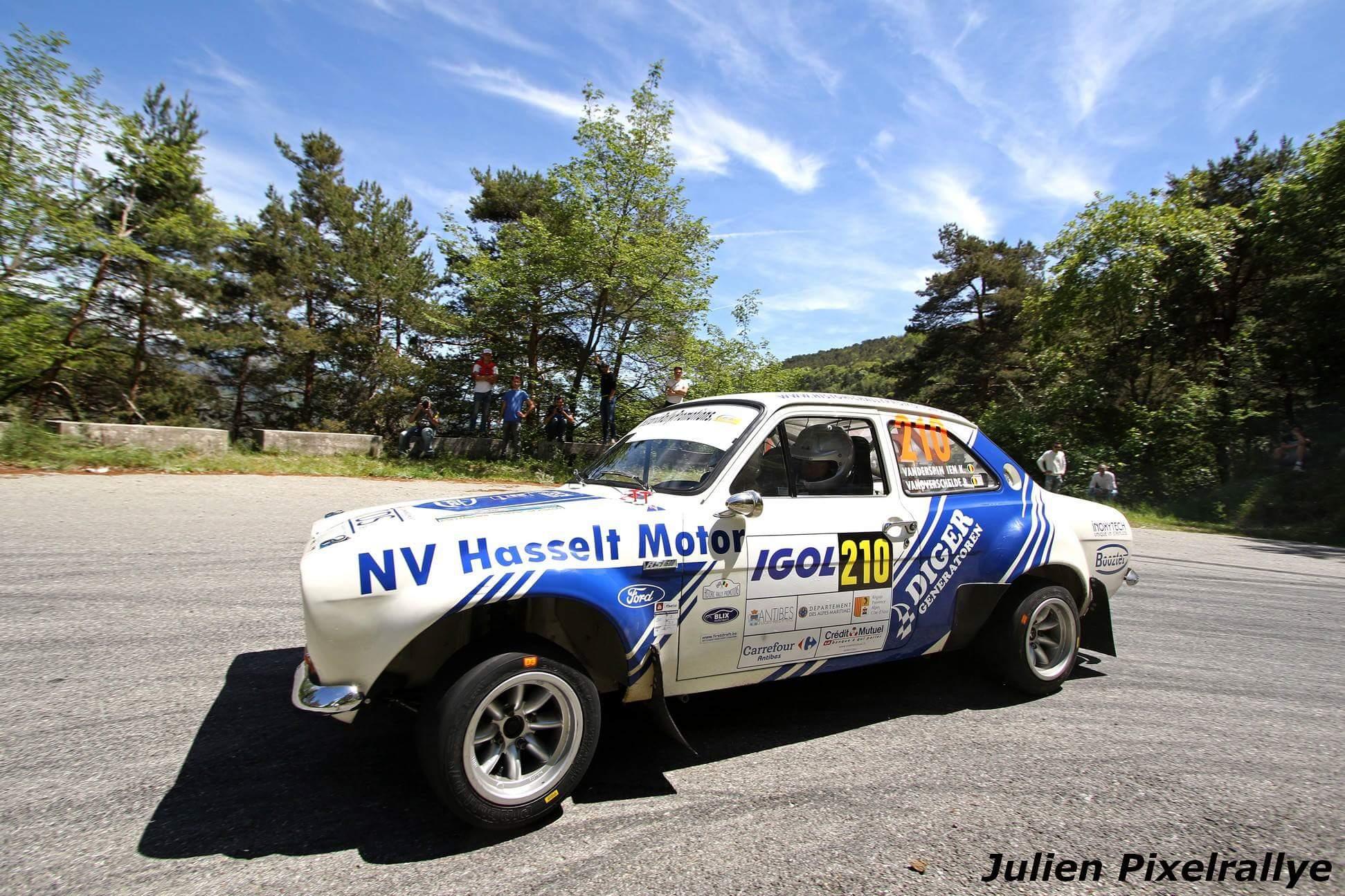Historic Rally Promotions & Kurt Vanderspinnen als Belgische afgevaardigde in Antibes Rallye Historic op een vierde plaats!