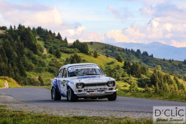 Podiumplaats voor  Vanderspinnen – Vanoverschelde in Rallye du Mont Blanc Morzine VHC!