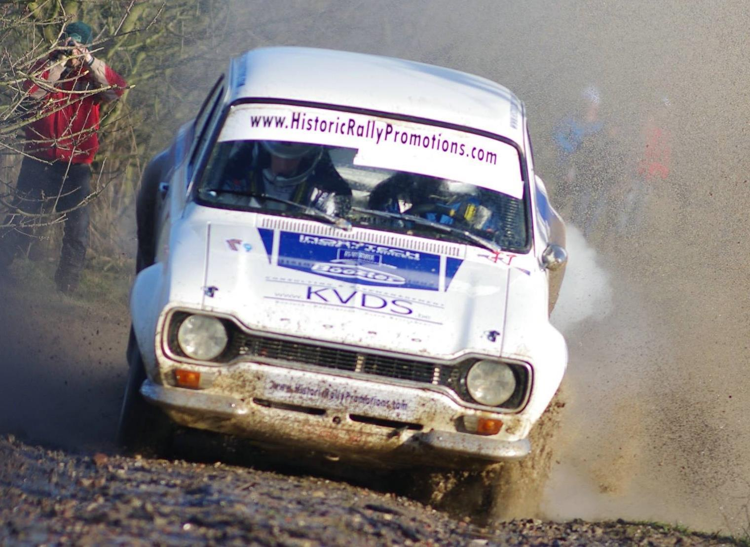 Historic Rally Promotions in 2015 : op diverse fronten.